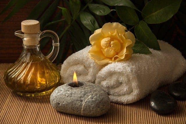 aceite de oliva piel