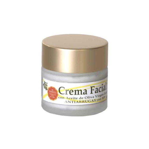 crema facial cara hidro nutritiva antiarrugas aceite oliva
